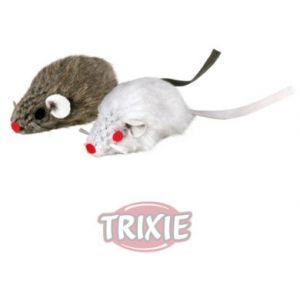Trixie 2 Souris en peluche pour chats