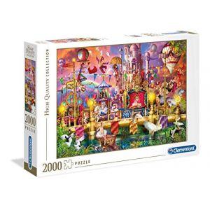 Clementoni Puzzle 2000 pièces - the circus