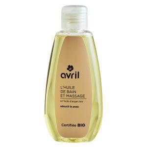 Avril L'Huile de bain et massage à l'huile d'Argan Certifiée Bio