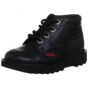 Kickers Chaussures Enfant Kick Hi -Noir - UK 10 Infant/EU 28 - Noir
