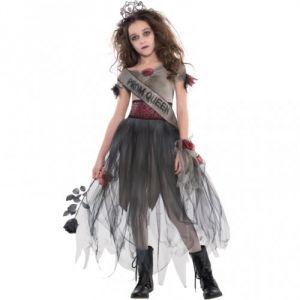 Amscan Déguisement reine du bal zombie Halloween