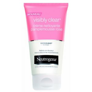 Neutrogena Visibly Clear Pamplemousse Rose Crème Nettoyante - Tube 150 ml