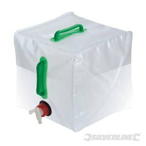 Silverline 159729 - Bidon d'eau pliant