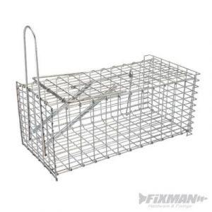 Fixman Piège à rat cage en grillage Neuf