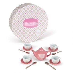 Janod Service à thé en céramique Macaron
