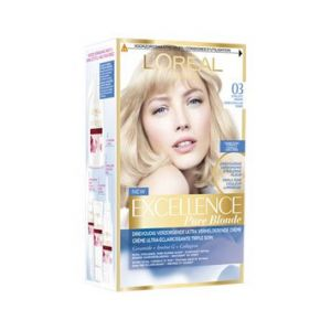 L'Oréal Excellence Pure Blonde - Coloration 03 Blond Ultra Clair Cendré