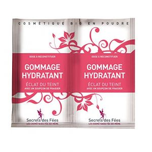 Secrets des Fées Gommage Hydratant Éclat du Teint 2 x 4 g