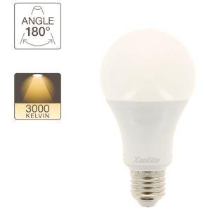 Xanlite Ampoule LED A60, culot E27, 18W cons. (150W eq.), lumière blanc chaud