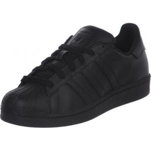 Adidas Originals Superstar Foundation, Sneakers Basses Mixte Enfant, Noir (Core Black/Core Black/Core Black), 37 1/3 EU