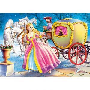 Castorland Cendrillon descend de son carrosse - Mini puzzle 54 pièces