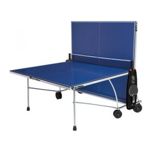 CORNILLEAU Table de Ping-Pong 100 Indoor - Table de Ping Pong 100 Indoor, coloris gris - Pliable, robuste et stable.