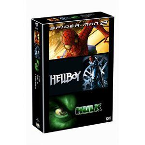 Coffret Spider-man 2 + Hellboy + Hulk
