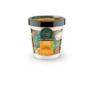 Organic Shop Body Desserts Crème Raffermissante pour Corps au Cappuccino/Caramel 450 ml