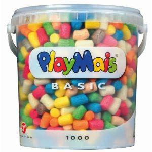 PlayMais Seau de 1000 flocons Basic