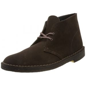 Clarks Originals - Desert Boot - Bottes - Homme - Marron (Brown Sde) - 42 EU