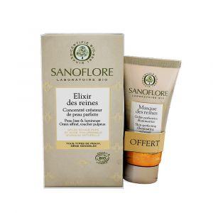 Sanoflore Elixir des Reines 30 ml + Masque des Reines 15 ml