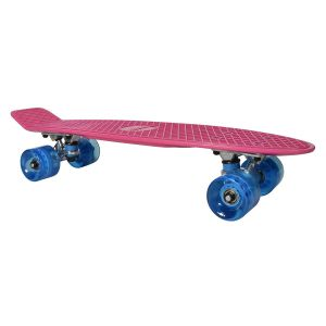 Moov'ngo Skate vintage rose roues bleues