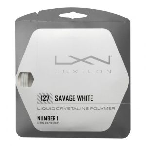 Luxilon Liquid Crystal Savage 127 Jeu de Cordage de Tennis