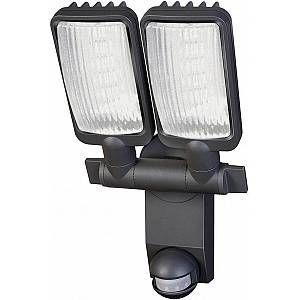 Brennenstuhl Lampe LED Duo Premium City LV5405 PIR IP44 avec détecteur de mouvements infrarouge 54X0,5W 2160lm