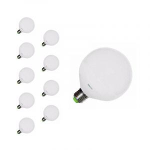 Silamp Ampoule E27 LED 20W 220V G120 300° (pack de 10) - Blanc Neutre 4000K - 5500K -
