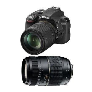 Nikon D3300 (avec 2 objectifs 18-105mm et Tamron 70-300mm)