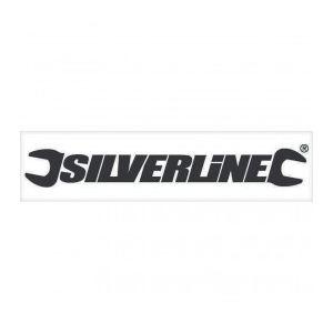 Silverline 427709 - Autocollant pour vitrine 40cm noir (ntérieur)