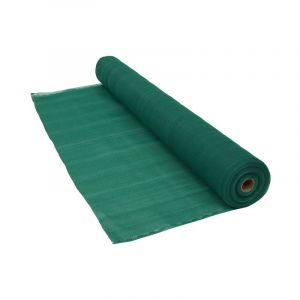 Brise vue 220 g/m² vert 1 x 10 mètres Vert