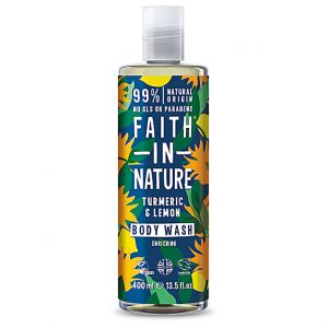 Faith in Nature Turmeric and Lemon Body Wash - 400 ml
