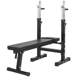 Gorilla Sports GS006 - Banc de musculation avec support de bar