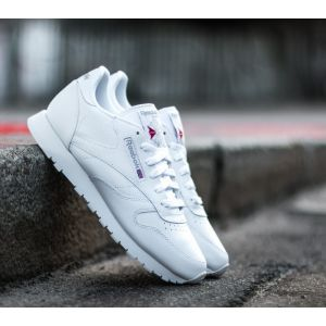 Reebok Cl Leather W chaussures blanc 42,0 EU