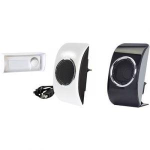 Extel Pack sonnette sans fil MP3 LOOKIT 150m de portée
