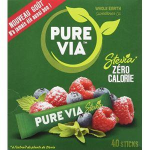 Image de Pure via Boîte de 40 Sticks 60 g - Lot de 4
