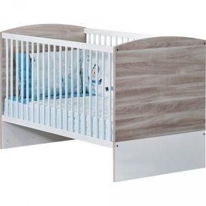 Sauthon Lit little big bed 140x70cm vintage silex