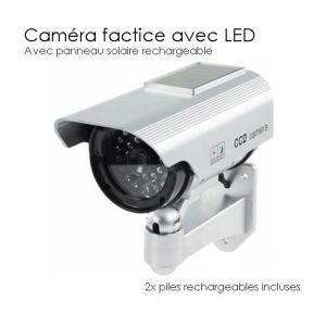 Camera  factice d'exterieur solaire