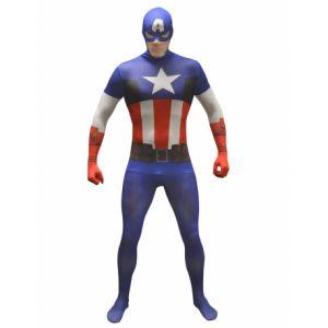 Déguisement classique Captain America adulte Morphsuits