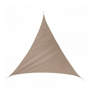Voile d'ombrage Triangulaire (L5 m) Quito Taupe