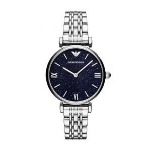 Emporio Armani AR11091 - Montre pour femme avec bracelet en acier