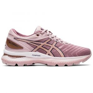 Asics Gel-Nimbus 22 Chaussures Femme, watershed rose/rose gold US 10 | EU 42 Chaussures running sur route