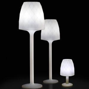 Image de Vondom Lampe Vases Design Blanche H220
