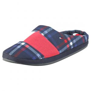 Tommy Hilfiger Jersey Homeslipper Chaussons Bas Homme, Rouge