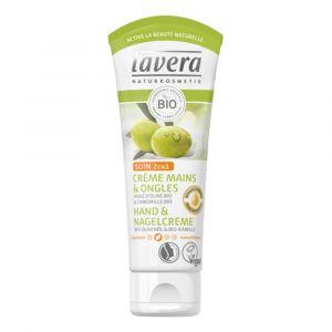 Lavera Crème mains et ongles Huile d'olive et Camomille bio