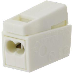 Wago Borne pour luminaires 2 conducteurs - Section 0,5 à 2,5 mm² - Vendu par 15