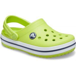 Crocs Crocband Clog Kids, Sabot Mixte Enfant, Punch Citronné, 28 EU-29