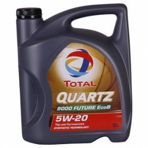 Total Huile moteur QUARTZ 9000 FUTURE EcoB 5W20 Essence et Diesel 5 L