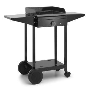 Forgeadour choa45 - Chariot pour plancha noir