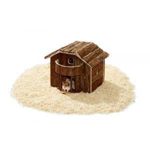 Karlie Wonderland Balcon - Maison pour rongeurs en bois naturel