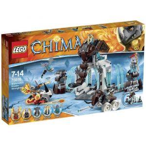 Lego 70226 - Chima : La forteresse glacée du Mammouth