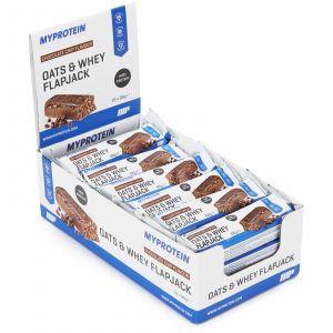Myprotein MyBar Oats & Whey - Chocolate Peanut cacahuète chocolat (Boîte 18 barres)