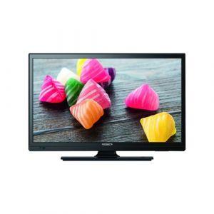 Antarion Téléviseur HD DVD DVIX Slim LED 23,6 12V 24V 220V Tuner 4K DVB-T2