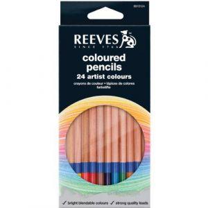 Reeves Crayon de couleur Set de 24